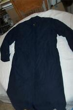 Womens Eddie Bauer S Goose Down Long Stadium Coat removeable Wool flannel liner