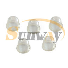 5 x Universal 22mm Petrol Fuel Primer Bulb for Strimmers Hedge Trimmer Chainsaws
