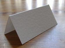 100 Martelé Blanc Mariage Table Nom Lieu cartes blanc