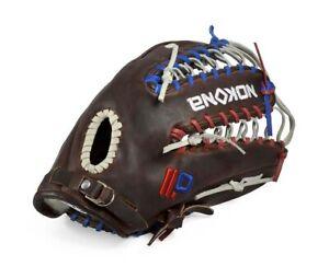 Nokona X2 Elite Red White & Blue Full Trap Web Right Handers Glove