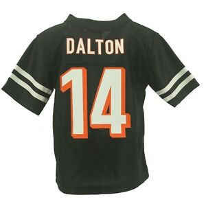 Cincinnati Bengals Official NFL Infant Toddler Size Andy Dalton Jersey New Tags