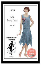 1920s Flapper Evening Frock Vintage Sewing Pattern  - Copy
