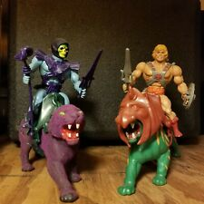 Masters of the Universe He-Man Battle Cat Skeletor Panthor MOTU 1980's