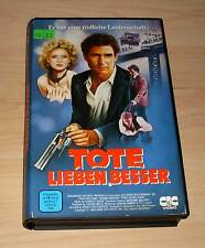 VHS - Tote leben besser - Treat Williams - Videofilm Action - Videokassette