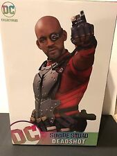 """DC Suicide Squad Movie 12"""" DEADSHOT STATUE by DC Collectibles Will Smith"""