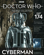 """DOCTOR WHO FIGURINE COLLECTION #174 """"RELAY SIGNAL DEVICE CYBERMAN"""" (EAGLEMOSS)"""