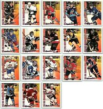 1996-97 TOPPS NHL PICKS ROOKIE STARS Complete 18 Card Insert Set lot Mint Koivu
