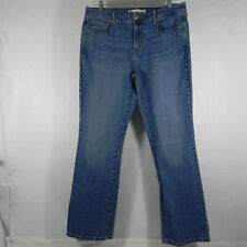 Levi's 515 Womans Denim Blue Jeans Boot Cut Stretch Size 12 - 33x32