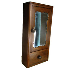 Art Deco  Kitchen Apothecary Bathroom Wall Cabinet  Mirror Lovely