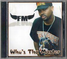 FM Who's Tha Master CD SEALED Memphis Gangsta Rap Freakmaster 38 Slug D-Mack