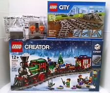 Lego Winter Train 10254 Switch Track 7895 Power Functions 88000 88002 8884 8879