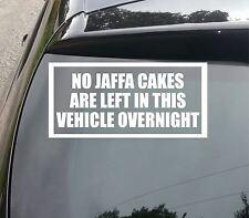 Gran Tortas izquierda en el vehículo sin Jaffa Calcomanía Coche Divertido/Furgoneta/Parachoques/Etiqueta De La Ventana