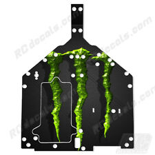 Losi Baja Rey Chassis Plate Protector Thick Graphics - Monster 3D LOS231010