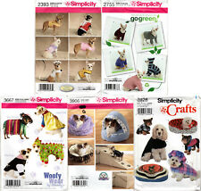 Choice: Sewing & Craft Patterns for Pet Dog Clothes Beds Costumes