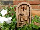 Personalised Dome Fairy Door Wooden Magical Elf Pixie Hobbit Tooth Fairy Fairie