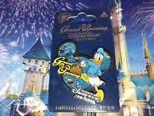 Disney Pin GRAND OPENING From SHANGHAI RESORT DONALD DUCK NEW