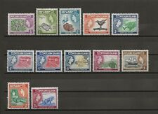 More details for pitcairn islands1957-58 sg 18/28 mnh cat £50