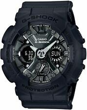 Casio GMAS-120MF-1A G-Shock Women's Analog-Digital Black Resin Strap Watch