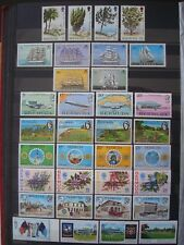 BERMUDA 17 THEMATIC SETS / 2 SCANS MNH **