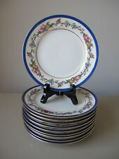 C. Ahrenfeldt CA Limoges France Salad Plates, Set of (10), Ovington Bros. NY