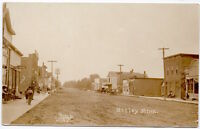 Real Photo Postcard Street Scene in Motley, Minnesota~105960