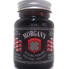 Morgan's Hair Styling Pomade High Shine Firm Hold Cream Wax Crema Cabello Pelo