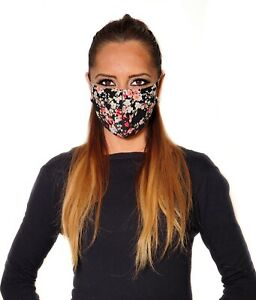 Spring Flowers Print Face Mask,Washable,Reusable!Made in USA!