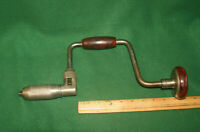 Fine Vintage PEXTO 110 Woodworking Brace Hand Bit Drill  U.S.A Inv#HK37