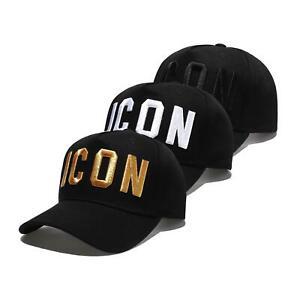 ICON Embroidered Baseball Cap Unisex Men One Size Adjustable Kingice Cap Hat