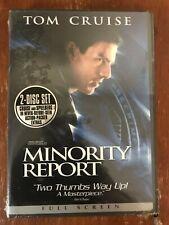 Minority Report (Dvd, 2002, 2-Disc)*Tom Cruise