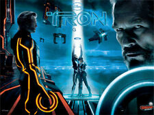 Stern TRON AVATAR IRON MAN X MEN TRANSFORMERS Pinball Translite light mod