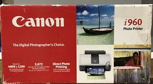 Canon i960 Photo Printer-New In Box, No Longer Being Manufactured! Retails $540