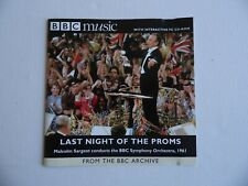 Last Night Of The Proms 1961 - Malcolm Sargent - CD - 22 Tracks (4).