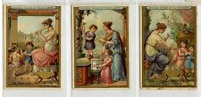 Full Set, Liebig (OXO) S214, Education in Anct Greece (X6) 1887 G-VG (Gu425-322)