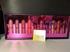 MAC Cosmetics Shiny Pretty Things LIP KIT 10 Mini Lipsticks BNIB Holiday 2018