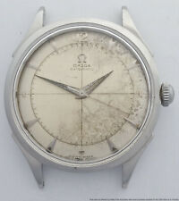 Omega Bumper Automatic Vintage Large 35mm Mens Running Wrist Watch
