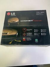 LG HOM-BOT Wi-Fi Enabled Robotic Vacuum, with 7 Smart Cleaning Modes,Black Color
