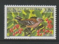 French Andorra - 1998, Nature Protection, Chaffinch Bird stamp - MNH - SG F540