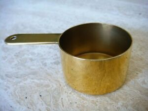 Tiffany & Co. Sterling Silver Vermeil Coffee Measure. Morning Joy Every Day