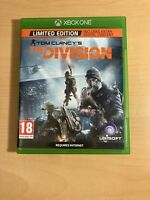xbox one limited edition tom clancy's the division game free postage