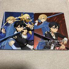 Sword art online Alicization Lycoris Original Steel book Case Set of 2 Only