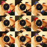 Fashion Womens Quartz Casual Watch Starry Sky Multicolor Leather Wrist Watches