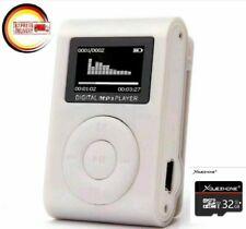 MP3 Mini Player LCD Display  Plus eine Micro SD 32GB Speicherkarte