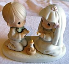 "Precious Moments ""The Lord Is Your Light To Happiness"" Figurine -1988 - #520837"