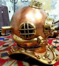 Copper Diving Helmet Mark V Antique Decorative Diving Helmet Reproduction