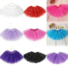 Kids Girls Tutu Skirt Princess Party Ballet Dance Wear Dress Pettiskirt Costume