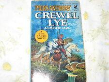 Crewel Lye Piers Anthony Caustic Yarn series PB Xanth 1985 Fantasy Fiction Book