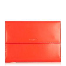 iPad Mini Case for Apple Tablet Knomo Knomad Portable Organiser Leather Tomato
