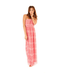 RIP CURL *NEW* WILLOW Maxi Dress Fully Lined SIZE 6 RRP $90
