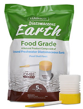 HARRIS Diatomaceous Earth Food Grade, 5lb with Powder Duster Included in The...